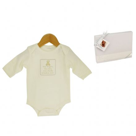 Bambino Long Sleeve Baby Grow (0-3 Months)